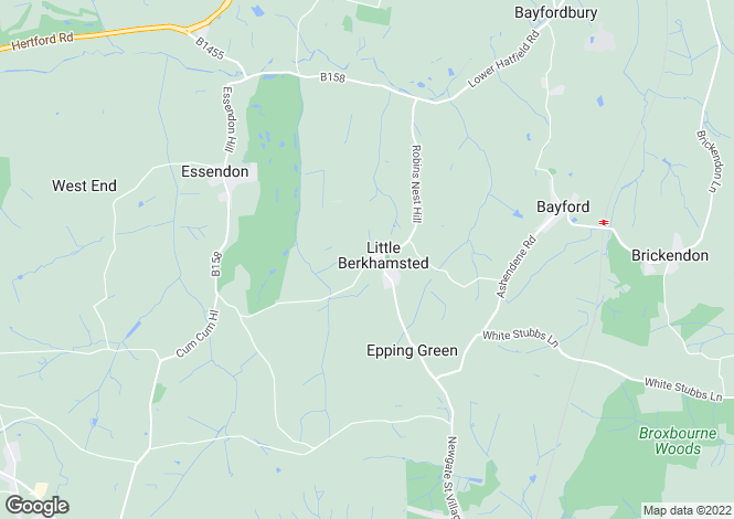 Map for Little Berkhamsted Lane, Little Berkhamsted, Hertford, Hertfordshire