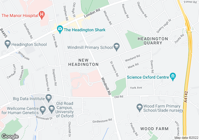 Map for Windmill Road,