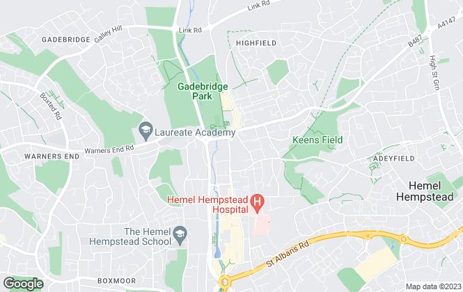Map for Surelet, Hemel Hempstead Lettings