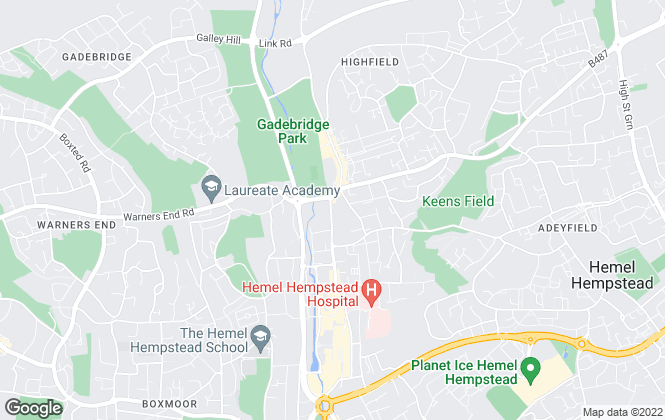 Map for Your Move , Hemel Hempstead