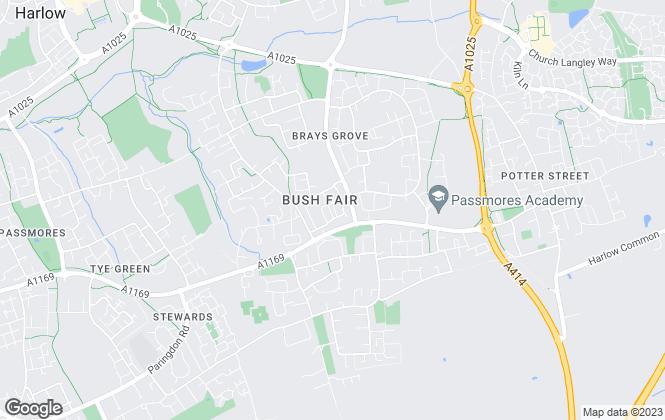 Map for ReylandJohnson Estate Agents , Harlow