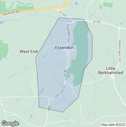 Map of property in Essendon