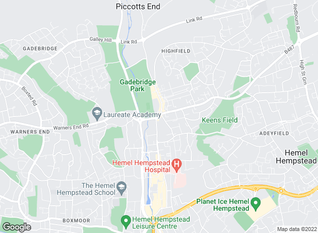 Map for Flaggs Estate Agent, Hemel Hempstead