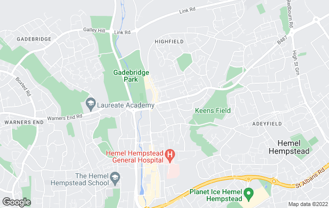 Map for Stimpsons, Hemel Hempstead Office