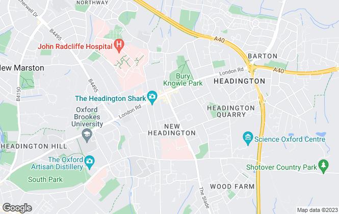 Map for Leaders, Headington