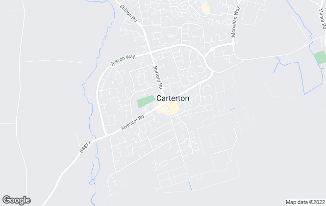 Map for David Richings Estate Agents, Carterton Sales