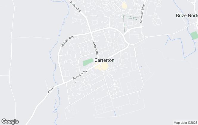 Map for Hunters, Carterton