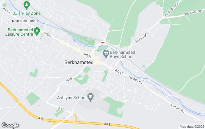 Map for Easy Property, Berkhamsted