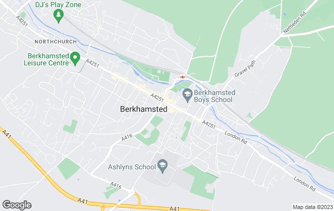 Map for Sterling Estate Agents, Berkhamsted