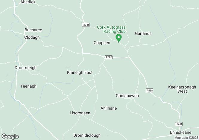 Map for Cyberwolf House, Cloonareague, Enniskeane, Co. Cork, P47 DX77