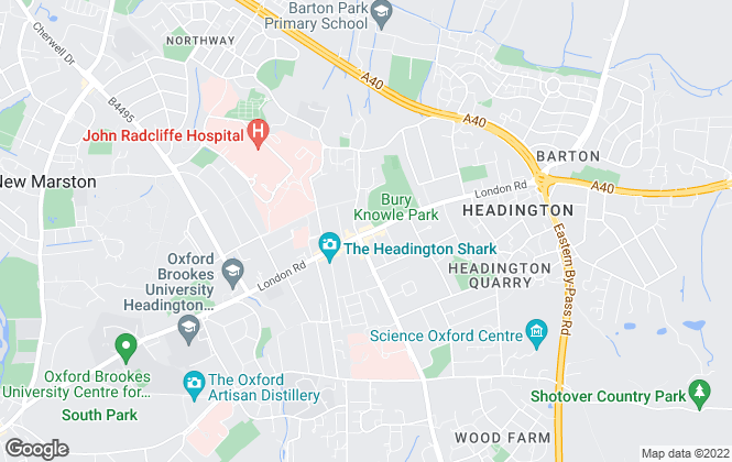 Map for Connells Lettings, Headington
