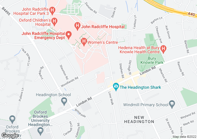Map for Beech Road,
