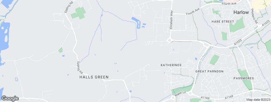Map for Linden Homes Eastern