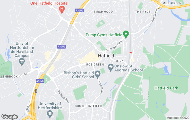 Map for Raine & Co, Hatfield