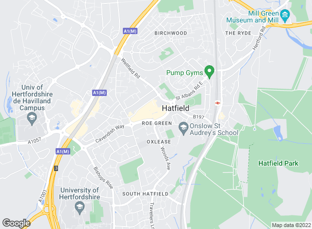 Map for Wrights of Hatfield, Hatfield - Sales
