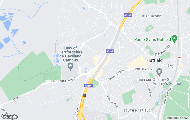 Map for Moving Places, Hatfield
