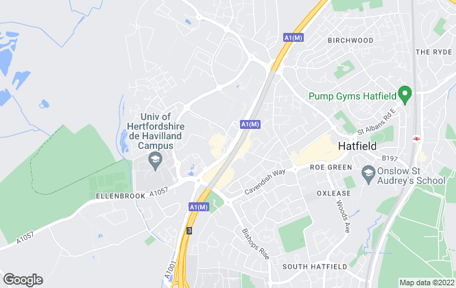 Map for Strats Estates & Lettings, Hatfield - Sales
