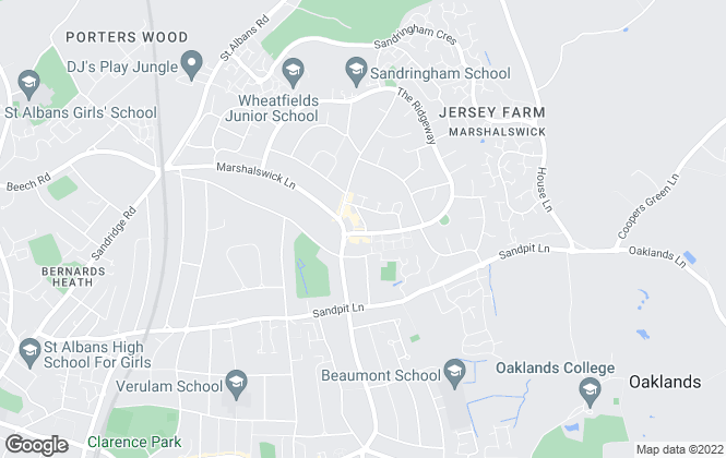 Map for Cassidy & Tate, St Albans