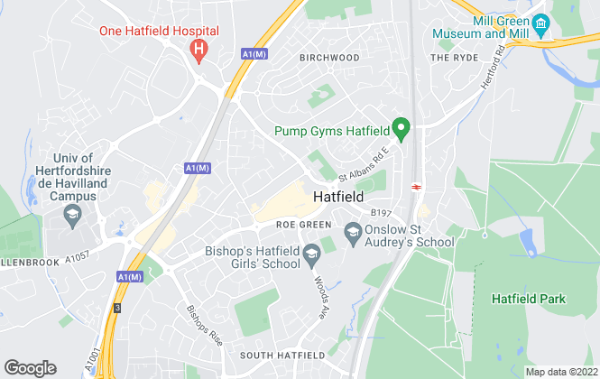 Map for Kings, Hatfield