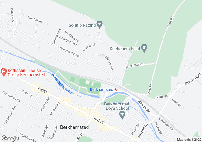 Map for Bridgewater Road, Berkhamsted, Hertfordshire, HP4