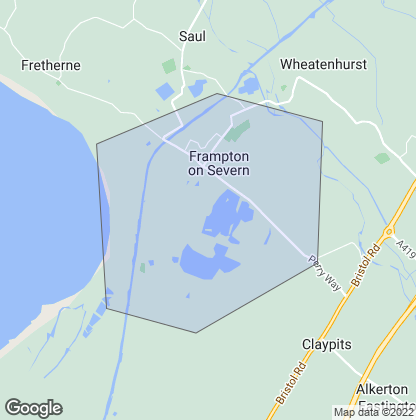 Map of property in Frampton On Severn