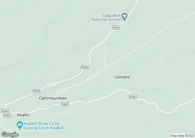 Map for Cahermuckee, Kealkill, Bantry, West Cork