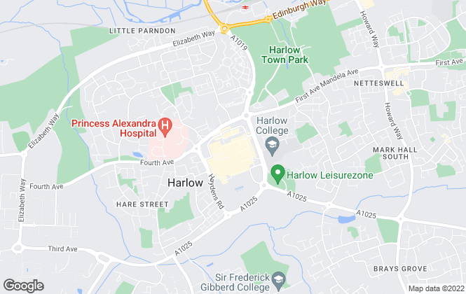 Map for haart, Harlow Lettings