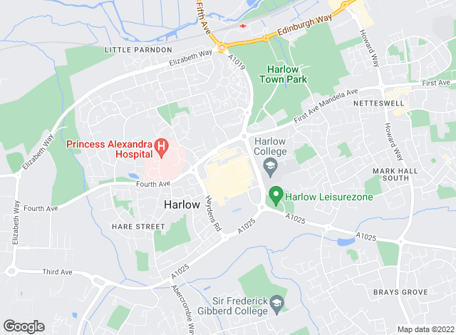 Map for Kings Group, Harlow - Lettings
