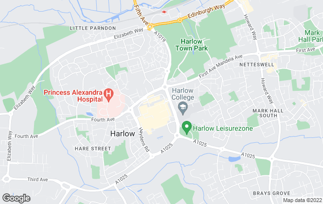 Map for Guardian Residential Lettings & Sales, Harlow