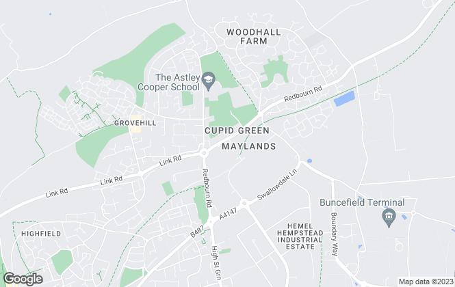 Map for Ashtree Direct, Hemel Hempstead