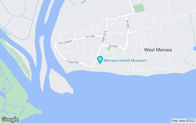 Map for Property Book UK, West Mersea