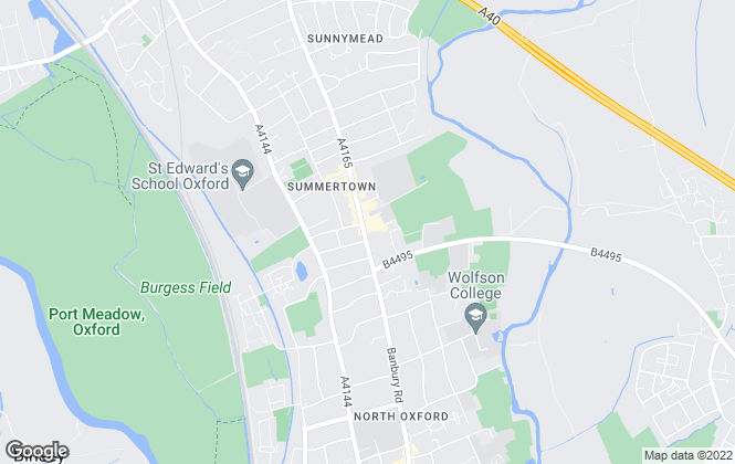 Map for Hamptons International Lettings, Oxford - Lettings