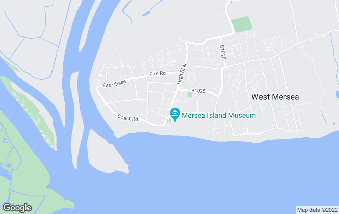 Map for Moores Estate Agents, West Mersea