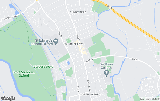 Map for scottfraser, Summertown and North Oxford Sales