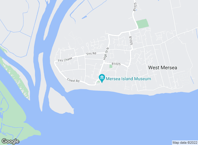 Map for Dale Stephens Associates, West Mersea