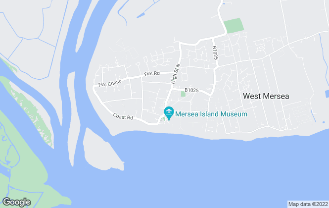 Map for Game Estate Agents, West Mersea