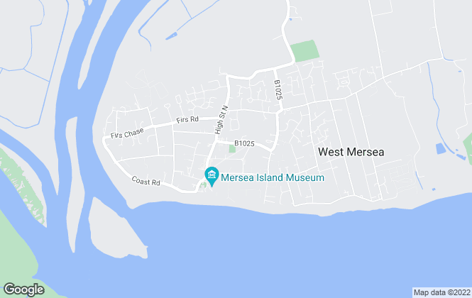 Map for Black Water Estates , West Mersea