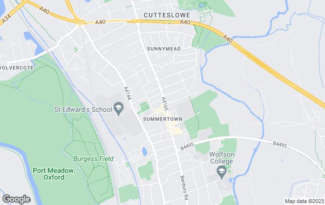 Map for Strutt & Parker, Oxford