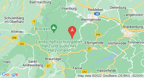 map of Hohnekamm (Germany)