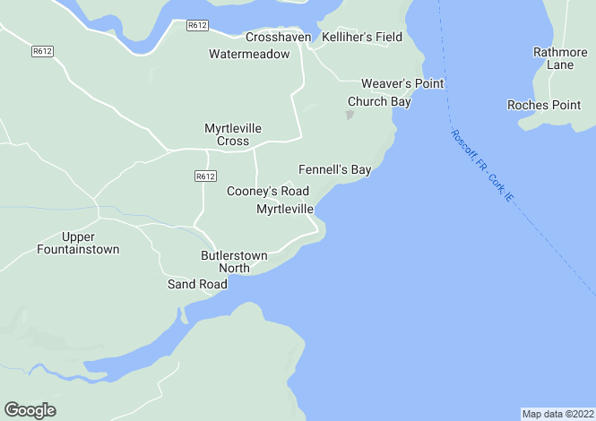 Map for Crosshaven, Cork