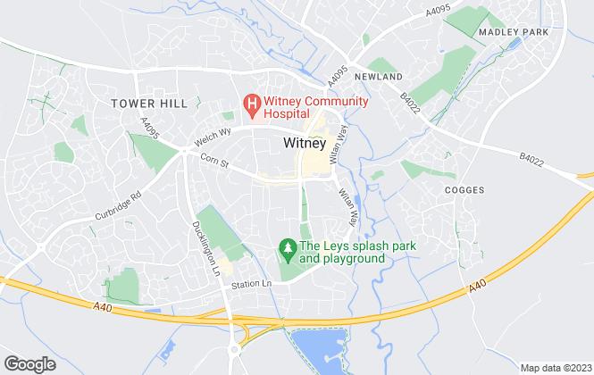 Map for scottfraser, Witney Lettings