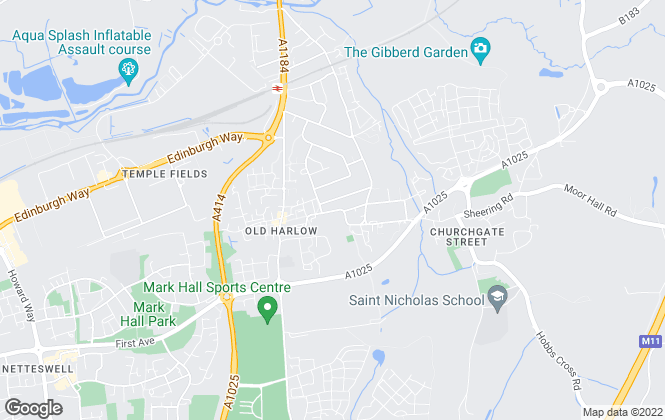 Map for Main Street Property Solutions Ltd, Harlow