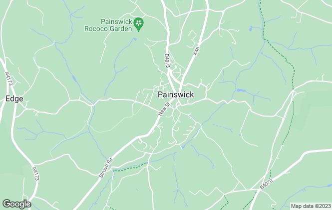 Map for Moulton Haus , Cotswolds