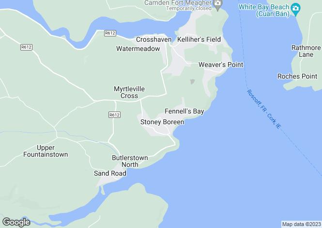 Map for Myrtleville, Co Cork