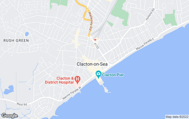 Map for Palmer & Partners, Clacton on Sea