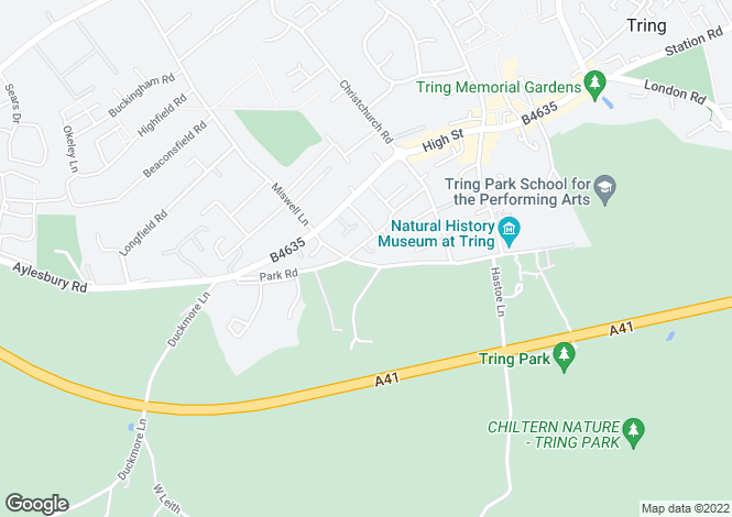 Map for The Furlong, King Street, Tring