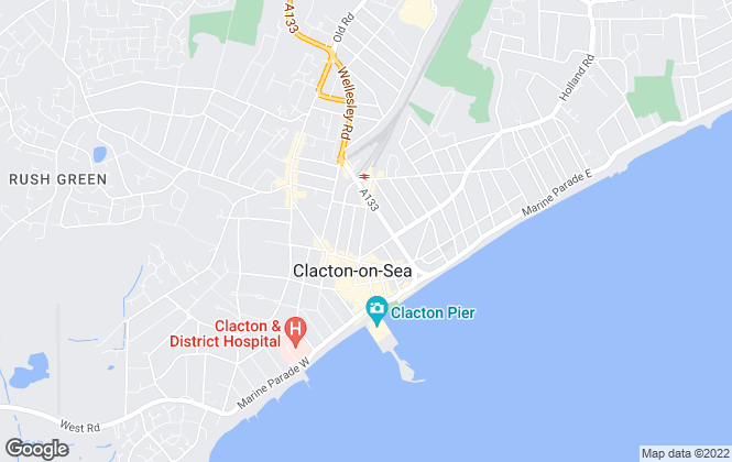 Map for Scott Sheen And Partners, Clacton on Sea