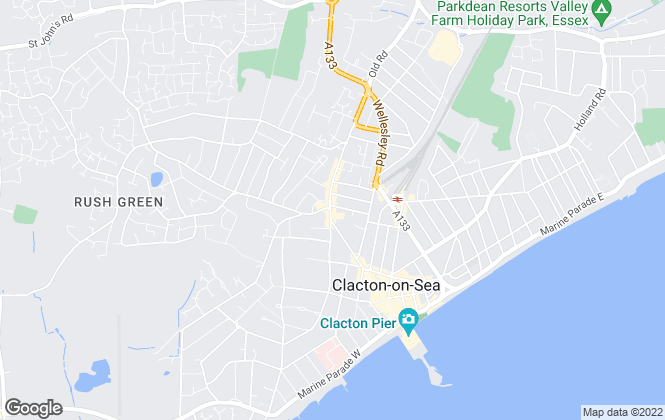 Map for Sheen's, Clacton-on-sea