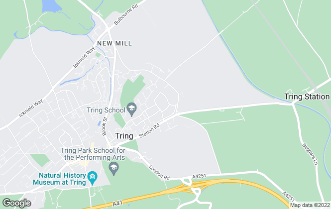 Map for Brown & Merry - Lettings, Tring