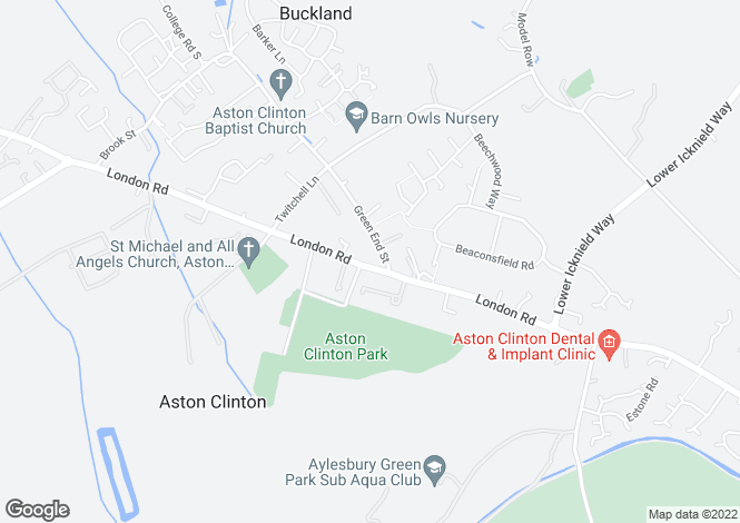 Map for Aston Clinton